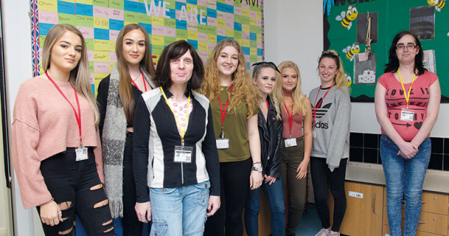 Childcare students learn about trans issues