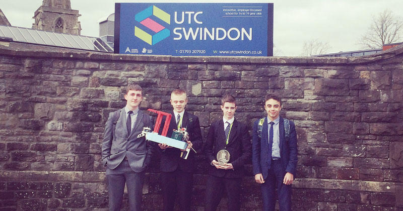 Team of UTC students win national Royal Navy Engineering Challenge