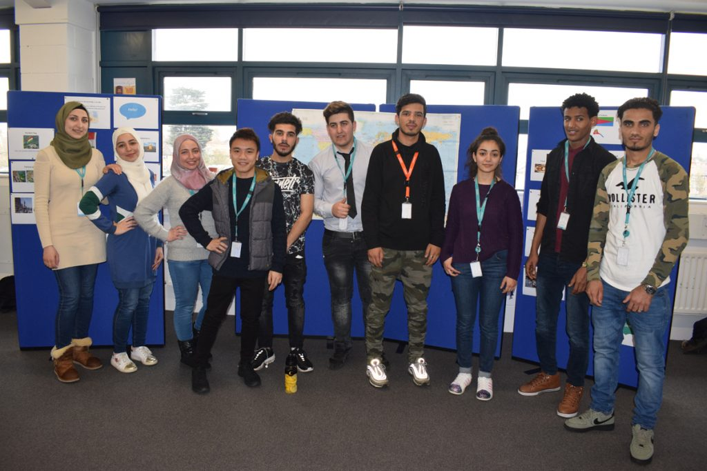 ESOL students deliver geography education to their peers