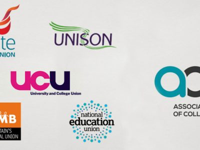 Unions call for substantial college staff pay increase following £400m boost