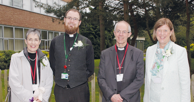 Archbishop of Canterbury visits FE students