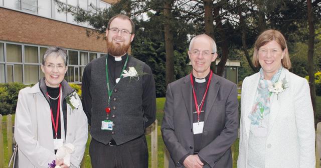 Archbishop of Canterbury visits FE students