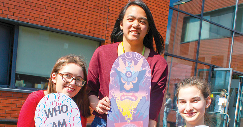 Graphic designers take part in challenge to design a new skateboard