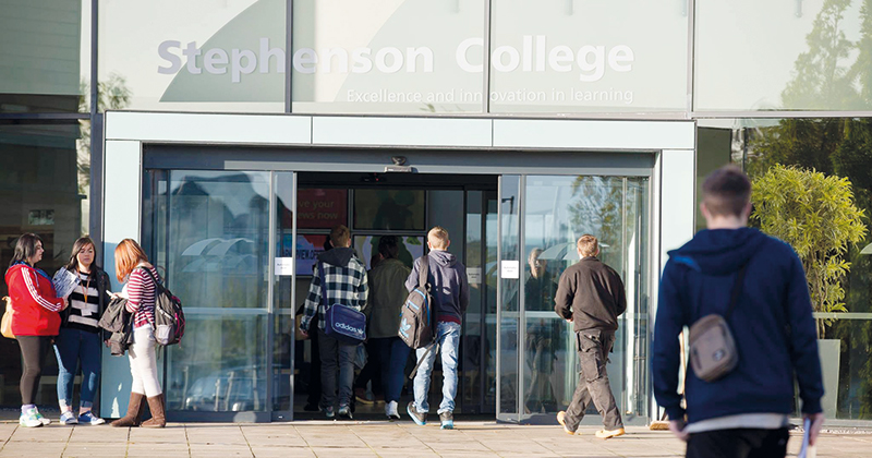 Stephenson College challenged over £100,000 tactical subcontracting