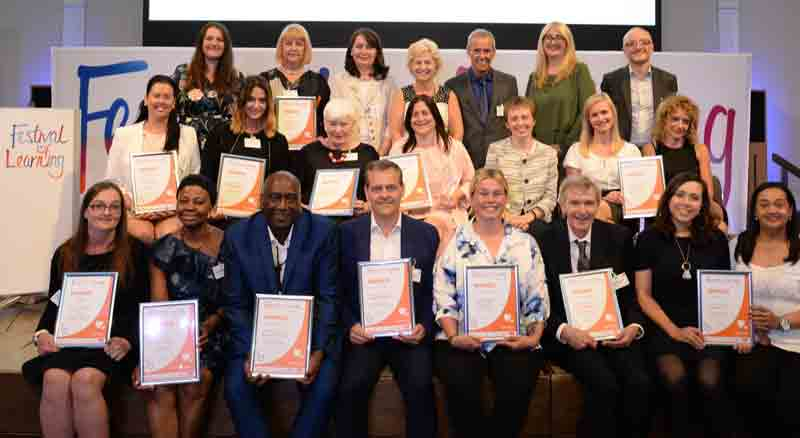 Festival of Learning winners 2018 winners announced