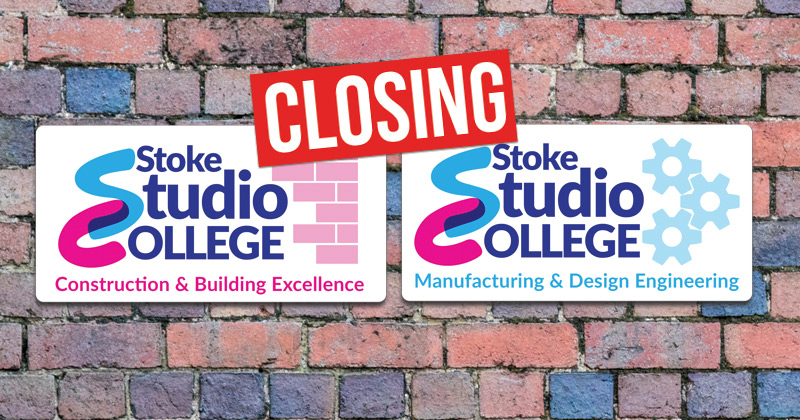 Two Stoke studio schools will shut down