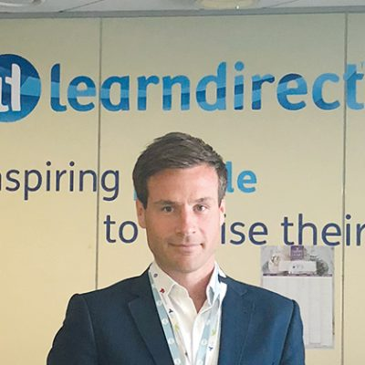 Wayne's world: meet the new Learndirect boss