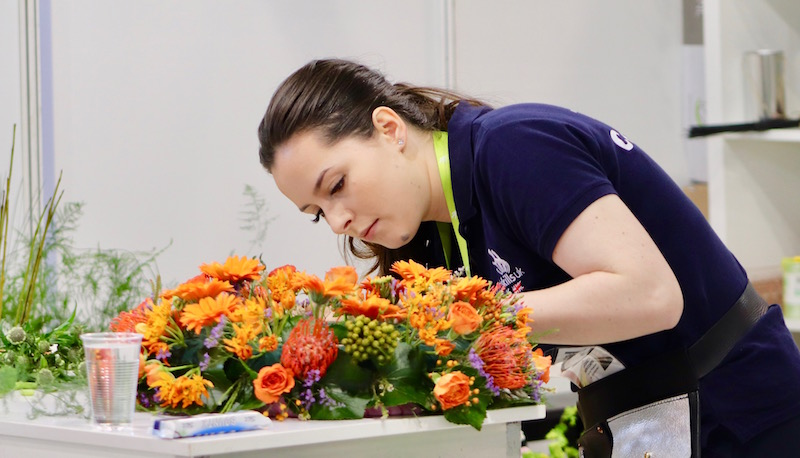 EuroSkills 2018: Team UK's flag-bearer Elizabeth 'confident' after day one