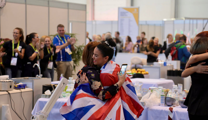 You beauty! Team UK wins gold at EuroSkills 2018