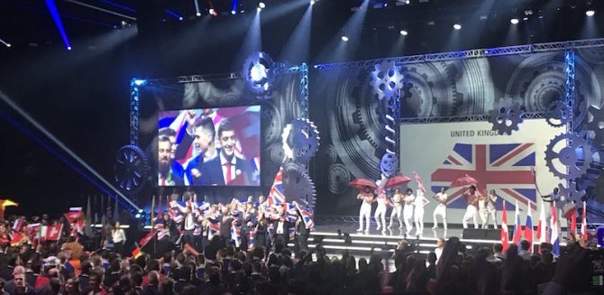 EuroSkills 2018: Breathtaking ceremony opens competition in Budapest