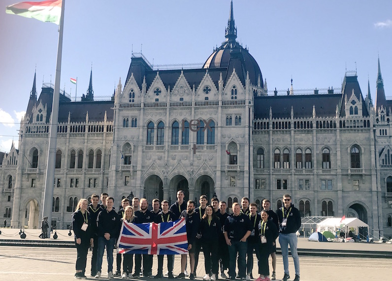 746368e670af EuroSkills 2018  Team UK arrive in Budapest