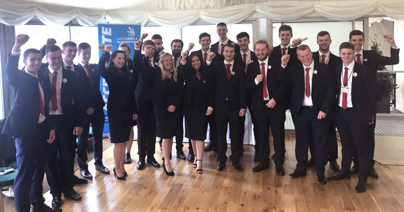 EuroSkills 2018: Team UK given send-off at Parliament
