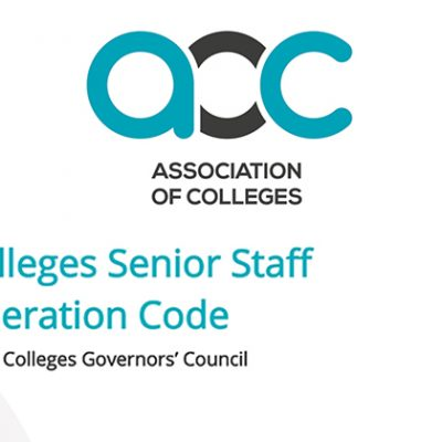 Mixed reactions to Association of Colleges senior pay code