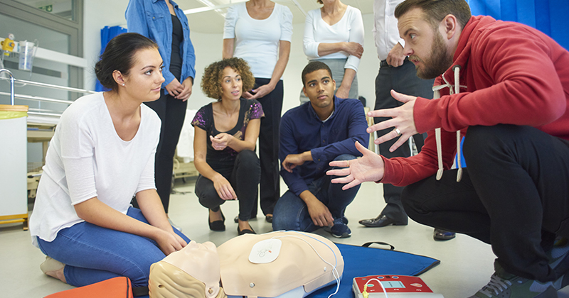 Re-levelling of first aid course boosts level 3 qualifications