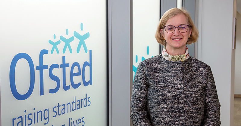 Ofsted boss pauses all inspection activity