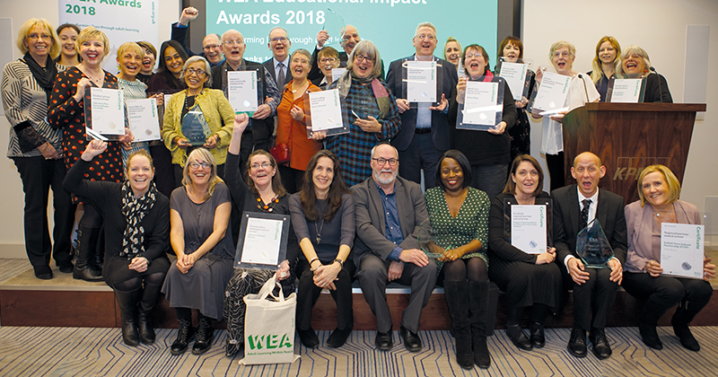 WEA Awards recognise inspirational lifelong learners and tutors