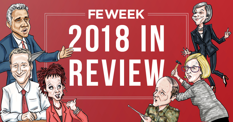 2018: The year in FE Week cartoons
