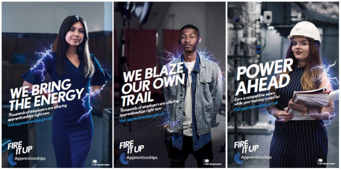 DfE launches new 'Fire It Up' apprenticeships campaign