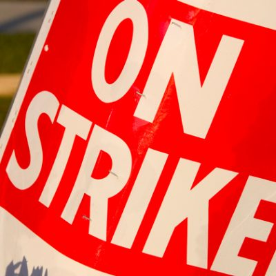 Lecturers strike at London college despite agreeing pay deal last year