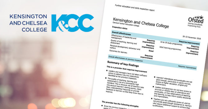 Fifth consecutive grade three Ofsted report for troubled London college