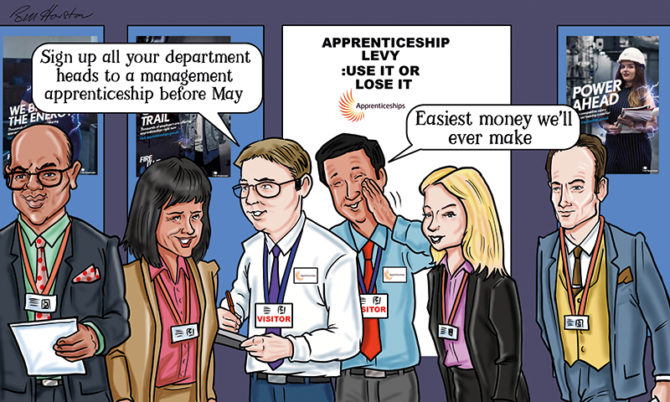 Why are providers charging the maximum apprenticeship price?