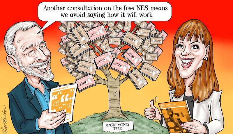 Labour launches second National Education Service consultation