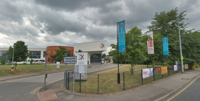 Macclesfield College handed financial health notice to improve
