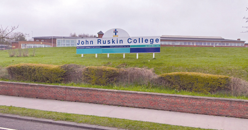John Ruskin College commended by FE Commissioner's report