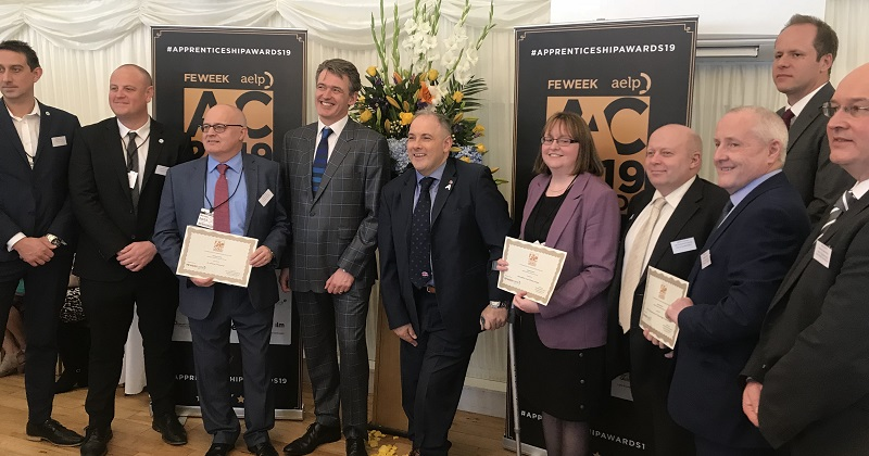 Finalists for AAC Apprenticeship Awards 2019 celebrated in Parliament
