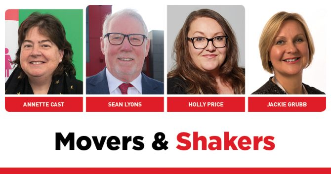 MOVERS AND SHAKERS: EDITION 274