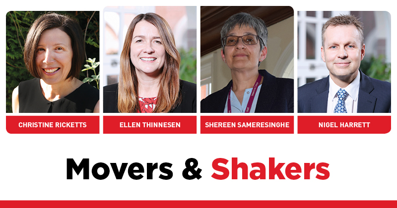 MOVERS AND SHAKERS: EDITION 276