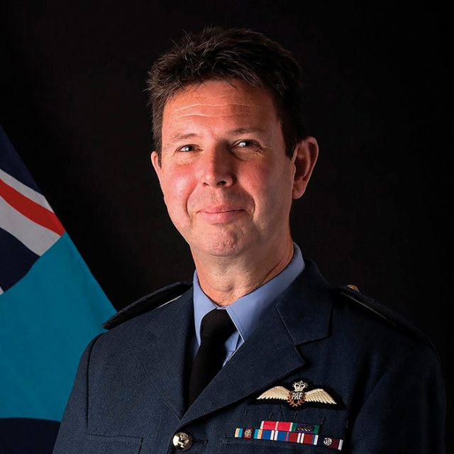 Air Vice-Marshal Warren James