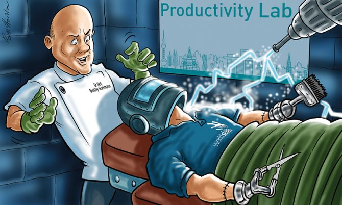 Solving the productivity puzzle: what can we learn from Russia?