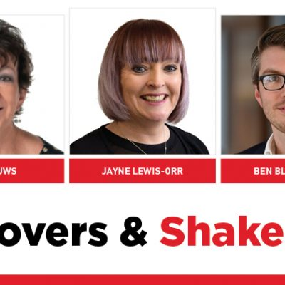 MOVERS AND SHAKERS: EDITION 284
