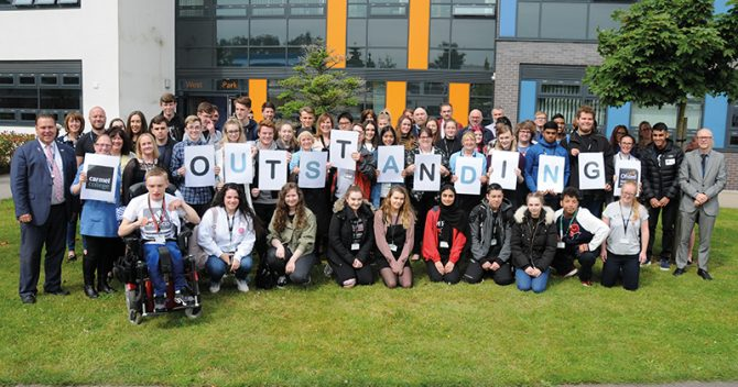 Sixth form college retains its grade one after 12-year respite