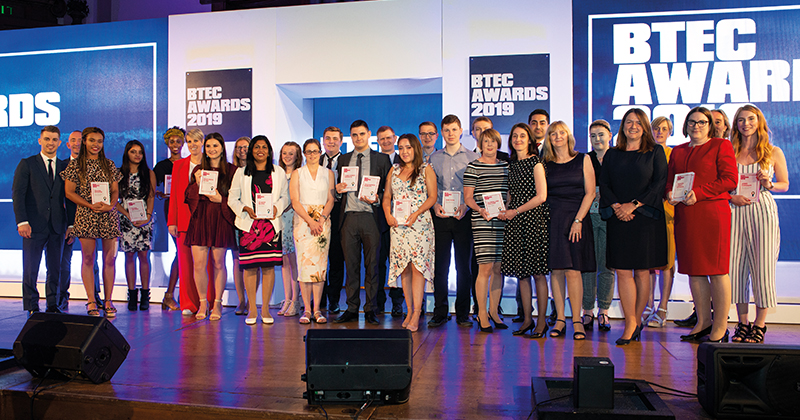 BTEC award winners 2019 unveiled