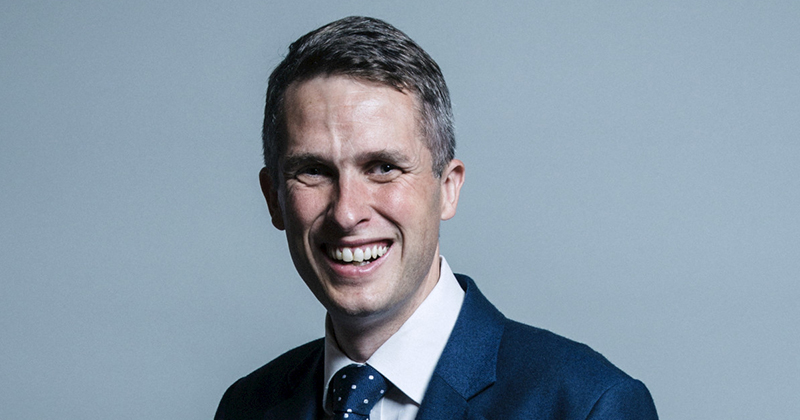 Gavin Williamson becomes new education secretary