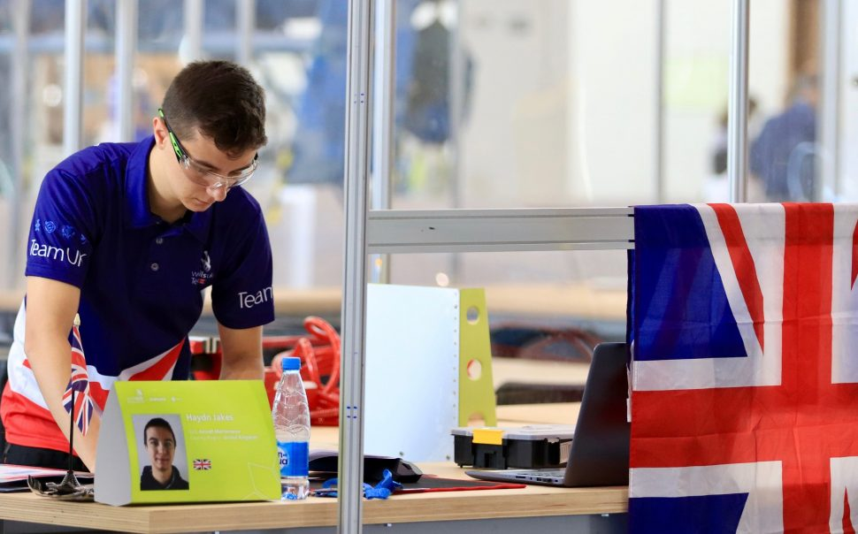 WorldSkills 2019: Team UK flying high after gold in aircraft maintenance