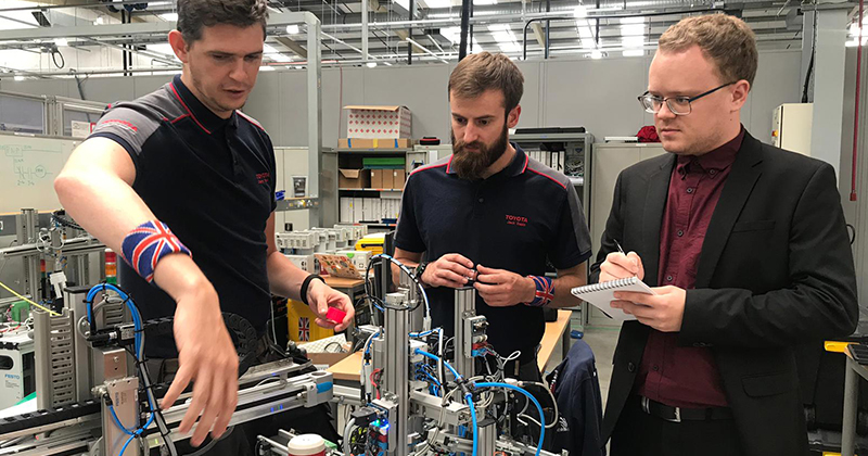 'We are ready': Team UK mechatronics duo take on the world's best