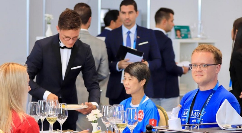 WorldSkills 2019 day two: Dining out on world-class Skills
