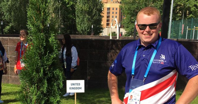 WorldSkills2019 pre-competition: Team UK digs in Kazan