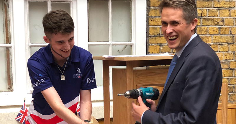 New education secretary meets WorldSkills UK in first college visit