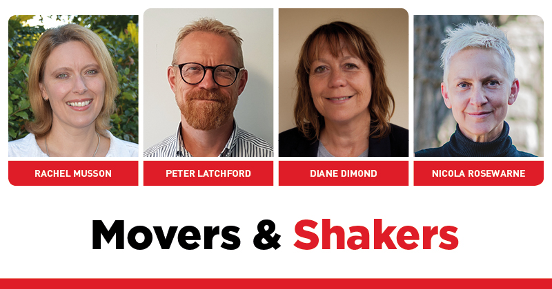 MOVERS AND SHAKERS: EDITION 290