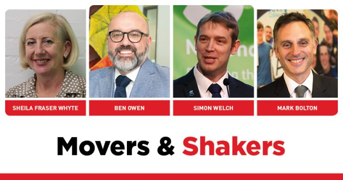 MOVERS AND SHAKERS: EDITION 291