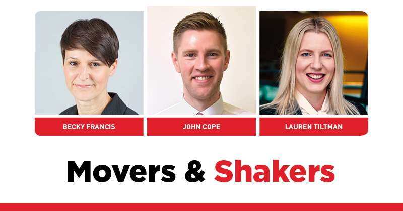 MOVERS AND SHAKERS: EDITION 295