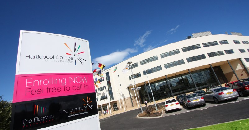 'Significant concerns' over Hartlepool College's financial sustainability