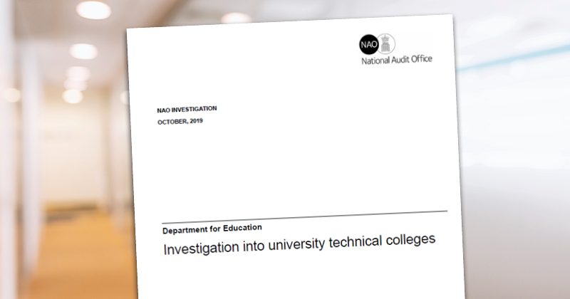UTC deficits more than double over 4 years, National Audit Office finds