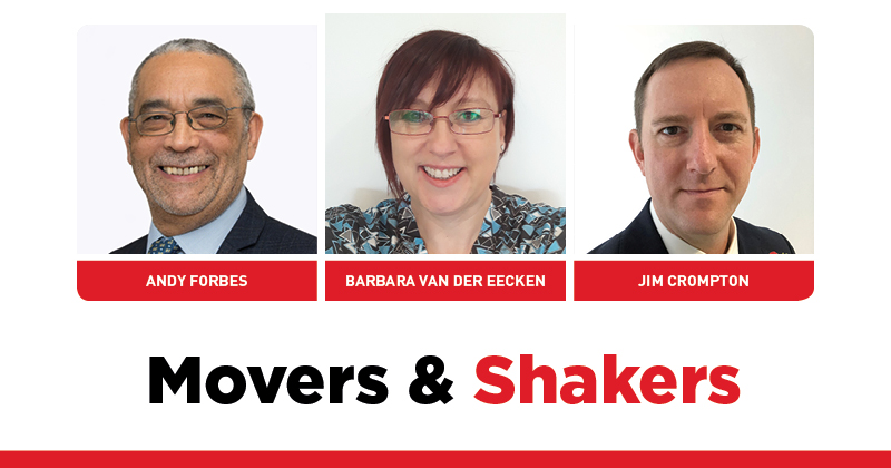 MOVERS AND SHAKERS: EDITION 296