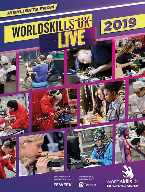 WorldSkills UK Live 2019