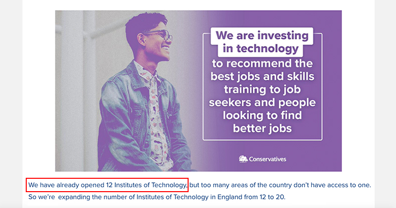Conservative Party admits IoT claim was an error